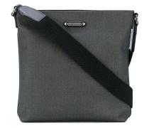 - herringbone messenger bag - men - Polyester