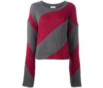 Pullover mit extralangen Ärmeln