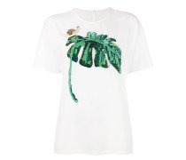 T-Shirt mit Bananenblatt-Motiv