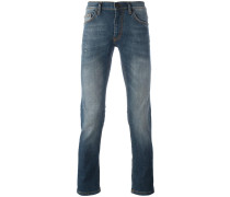 Jeans in Stonewashed-Optik