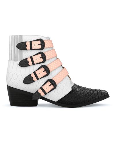 Erkunden Zu Verkaufen Billig Verkauf Sehr Billig Toga Damen 'AJ006' Stiefel aus Schlangenleder - Unavailable Angebot Zum Verkauf Äußerst Rabatt Für Billig GXJxwjxeu