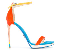 Stiletto-Sandalen in Colour-Block-Optik - women