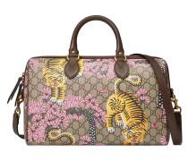 Bengal top handle bag - women