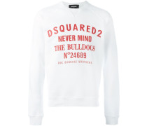 "Sweatshirt mit ""Never Mind The Bulldogs""-Print"
