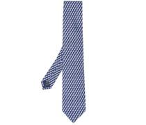 Krawatte mit Waschbären-Print