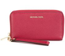 - Portemonnaie mit Reißverschluss - women - Leder