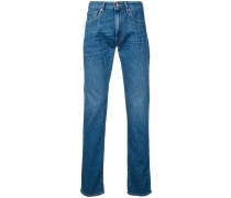 Jeans mit Fransen
