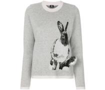 Pullover mit 'Hasen'-Print
