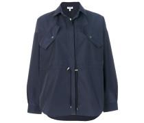 drawstring coat