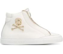 'Jason' High-Top-Sneakers mit Logo-Schild