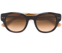 Sonnenbrille in Colour-Block-Optik