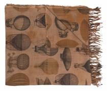 Schal mit Luftballon-Print