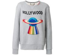 embroidered planet sweatshirt