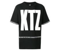 T-Shirt mit Oversized-Logo-Print