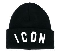 "Wollbeanie mit ""Icon""-Stickerei"