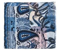 Leinenschal mit Paisley-Print - men