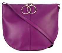 saddle shoulder bag - women - Leder