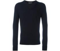 Pullover mit Rosen-Patch
