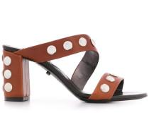 Sandalen mit Nieten, 85mm