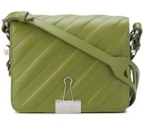 padded Binder Clip shoulder bag