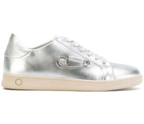safety pin detail sneakers
