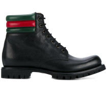 Military-Stiefel mit Webstreifen - men