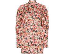 'Kim' Minikleid mit Blumenmuster