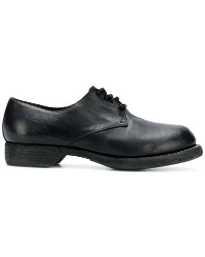 Derby-Schuhe aus Pferdeleder