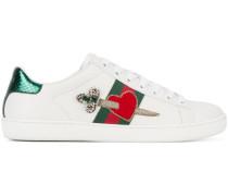 'Ace' Sneakers mit Herz-Motiv