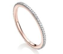 'Eternity' Ring mit Diamanten