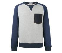 Sweatshirt mit Jeanstasche - men - Baumwolle
