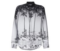 palm tree print shirt