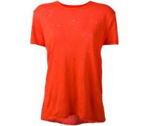 'Clay' T-Shirt - women - Leinen/Flachs - M