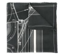 Schal mit Kobra-Print