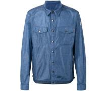 Hemdjacke mit Jeans-Effekt