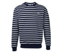 Gestreiftes Sweatshirt - men - Baumwolle - 5