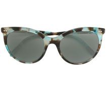 Tiffany & Co. Gemusterte Cat-Eye-Sonnenbrille