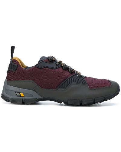 Prada Herren Sneakers mit Kontrastschnürung