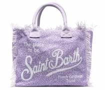 vanity leopard-print beach-bag
