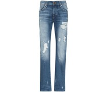 'Rocco' Jeans in Distressed-Optik