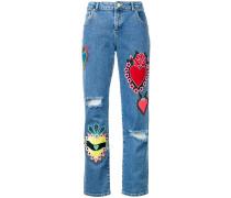 'Heart' Boyfriend-Jeans