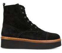 'Chaussure' Stiefel mit Wedge-Absatz