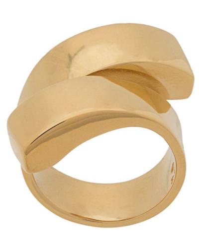 Statement-Ring mit Spiralform