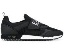 Sneakers mit Logo-Riemen - men