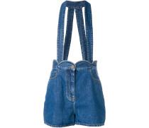 Shorts mit Hosenträgern