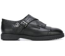 Monk-Schuhe im Budapesterstil