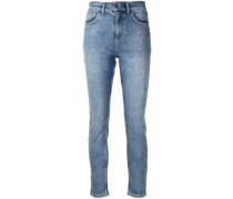 Kristallverzierte Jeans