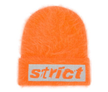 strict embroidered beanie