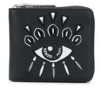 'Eye' Portemonnaie mit Stickerei