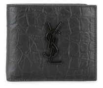 'Monogram' Portemonnaie - men - Kalbsleder